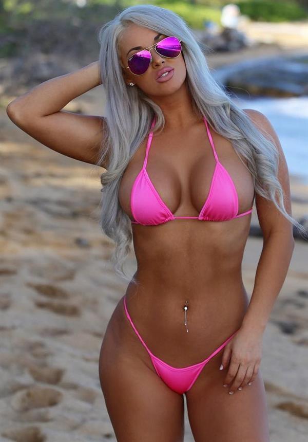 Laci Kay Somers in a bikini