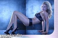 Cara Wakelin in lingerie