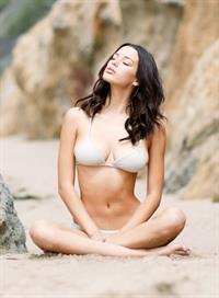 Denise Schaefer in a bikini