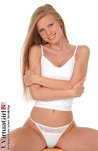 Marketa Belonoha in lingerie