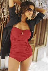 Natalie Suliman in a bikini