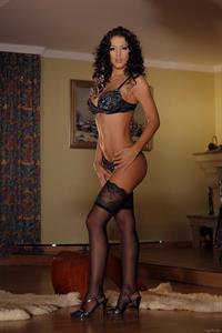 Angel Dark in lingerie