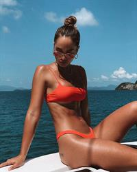 Aisha Jade in a bikini