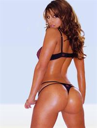 Vida Guerra in lingerie - ass