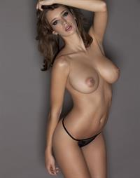Emily Florence Shaw in lingerie - breasts