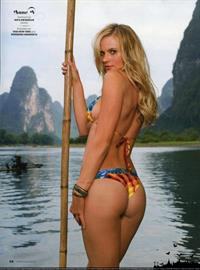 Anne Vyalitsyna in a bikini - ass