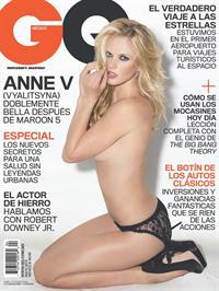 Anne Vyalitsyna in lingerie