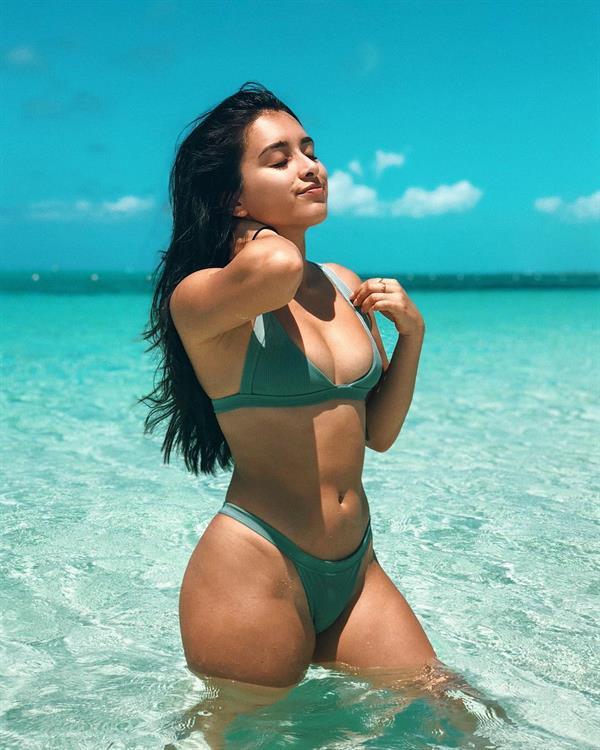 Jazmine Garcia in a bikini