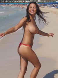 Lacey Banghard in a bikini - tits and ass