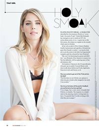 Emily Bett Rickards in lingerie