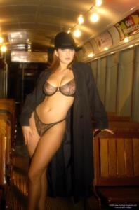 Shannon Stewart in lingerie