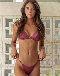 Renee Herbert in a bikini
