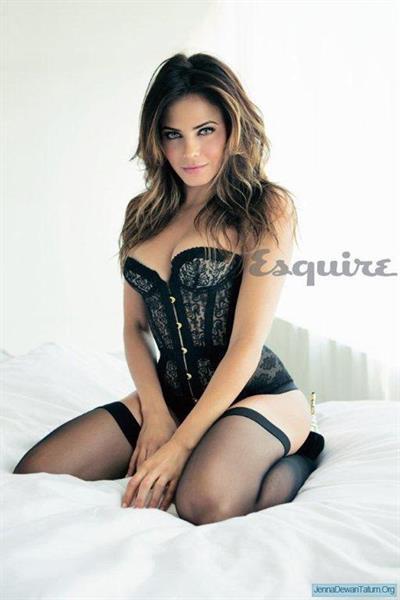 Jenna Dewan in lingerie