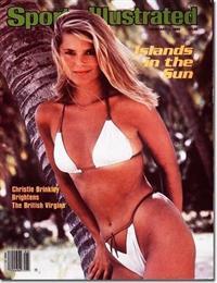 Christie Brinkley in a bikini