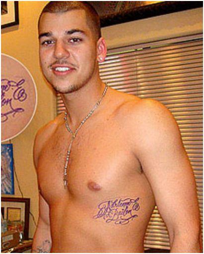 Rob kardashian naked picture