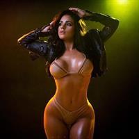 Stephanie Acevedo in lingerie