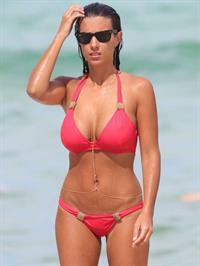 Ludivine Sagna in a bikini