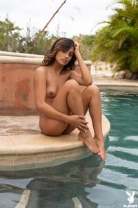 Katherinne Sofia Naked by the Pool