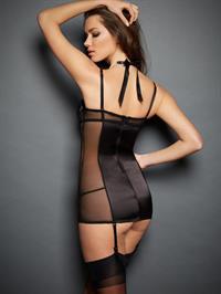 Anna-Christina Schwartz in lingerie - ass
