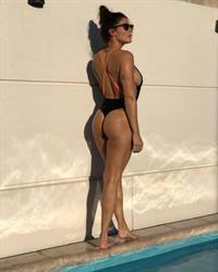 Ivana Nadal in a bikini - ass