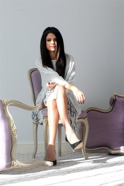 Selena Gomez  Spring Breakers  hotel portraits in Paris 2/17/13