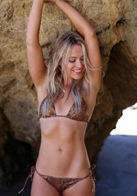 Katrina Bowden in a bikini