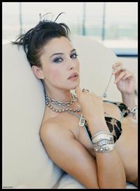 Monica Bellucci in a bikini