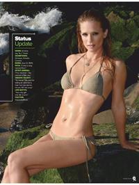 A.J. Cook in a bikini