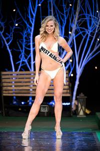 Hannah Brown in a bikini