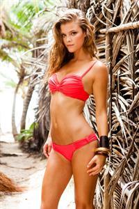 Nina Agdal – Sauvage Swimwear Resort 2014 Shoot 6/4-5/13