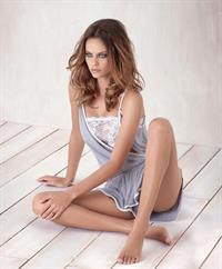 Daniela Freitas in lingerie