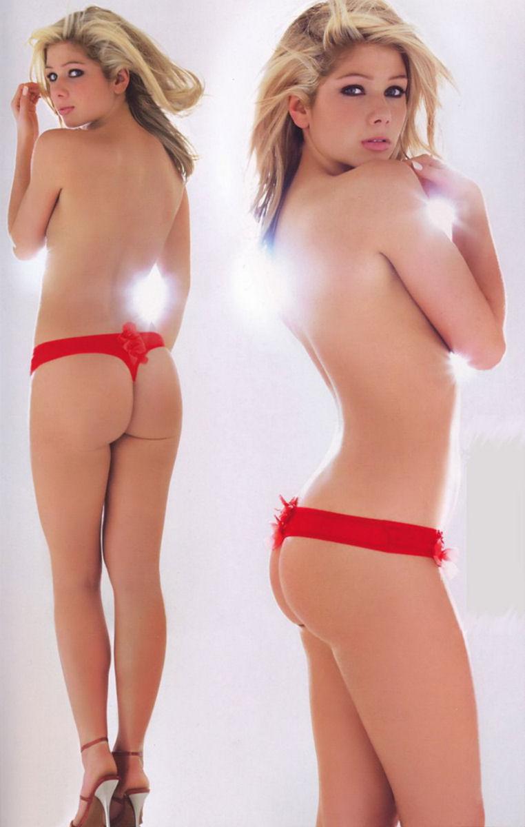 Nikki Sanderson in lingerie - ass