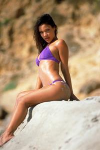 Adriana Sage in a bikini