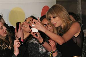 Taylor Swift Brit Awards 2013 at 02 Arena in London 2/20/13