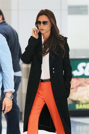 Victoria Beckham - John F. Kennedy International Airport in New York on May 8, 2013