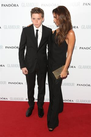 Victoria Beckham Glamour Awards at Berkeley Square Gardens (June 4)