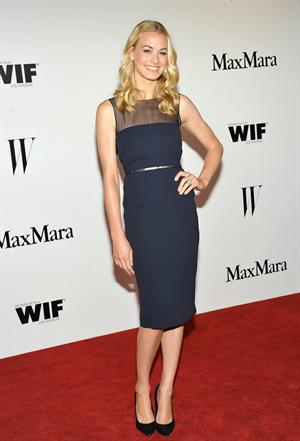 Yvonne Strahovski MaMara and W Magazine Cocktail Party -- Jun 11, 2013