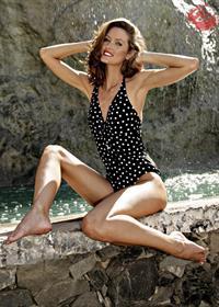 Nikkala Stott in a bikini