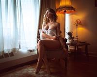 Sadie Gray in lingerie
