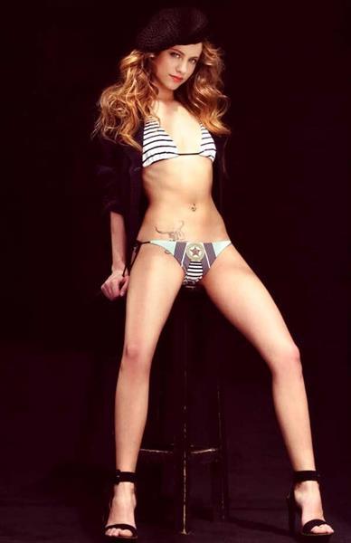 Michelle Jenner in a bikini