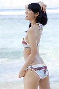 Rina Koike in a bikini