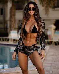 Katelyn Runck in a bikini