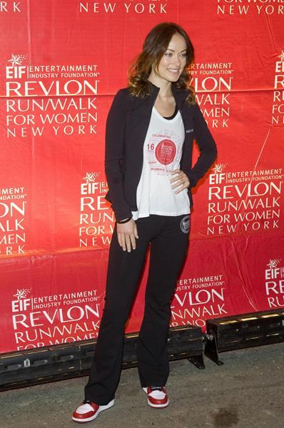 Olivia Wilde Revlon Run/Walk For Women in New York City - May 4, 2013