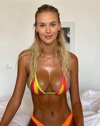 Stripe bikini