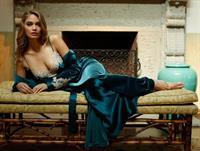 Natalie Morris in lingerie