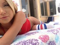 Dakota Skye taking a selfie