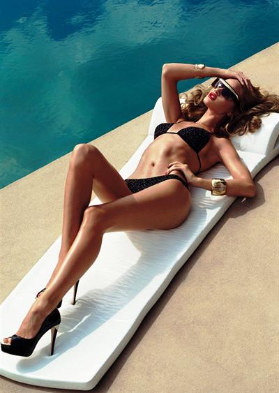 Rosie Huntington-Whiteley in a bikini