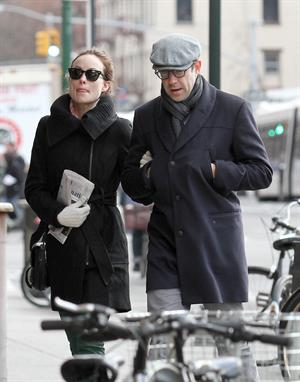 Olivia Wilde out walking in New York City on February 20, 2013