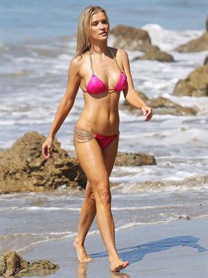 Joanna Krupa - Bikini candids in Santa Monica August 7, 2012