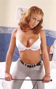Roxanne in lingerie